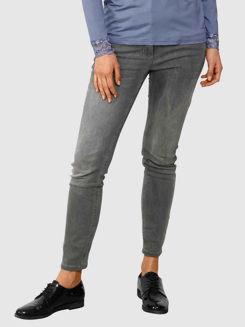 Laura Kent Skinny-fit-Jeans mit dekorativer Naht