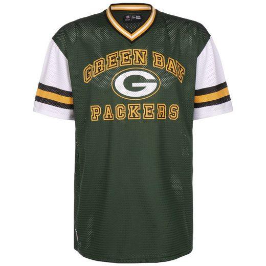 New Era Print-Shirt »Nfl Green Bay Packers Stripe Sleeve Oversized«