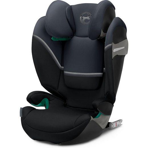 Cybex Autokindersitz »Auto-Kindersitz Solution S2 i-Fix, Navy Blue-navy«