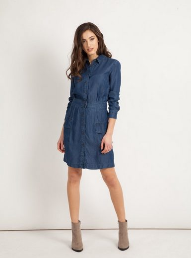 Mavi Jeanskleid »DENIM DRESS« Strukturierte Form