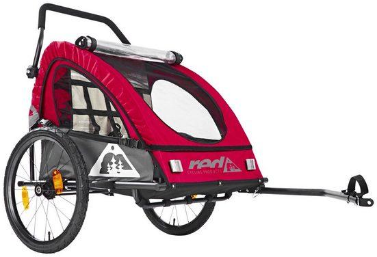 Red Cycling Products Fahrradkinderanhänger »PRO Kids BikeTrailer«