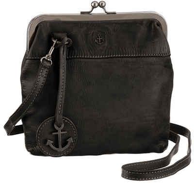 HARBOUR 2nd Mini Bag »Rosalie«, aus Leder mit typischen Marken-Anker-Label und Schmuckanhänger