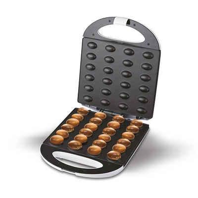 Adler Waffeleisen AD 3039, Nüsse Keks-Maker, XL, 24 Stück, Erdnussform, Nuss-Toaster, 1600 Watt, Weiß