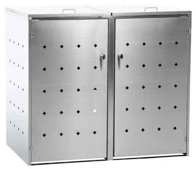 CLP Mülltonnenbox »Nelli«, Unterstand Für 2-3 Mülltonnen Bis 240 Liter