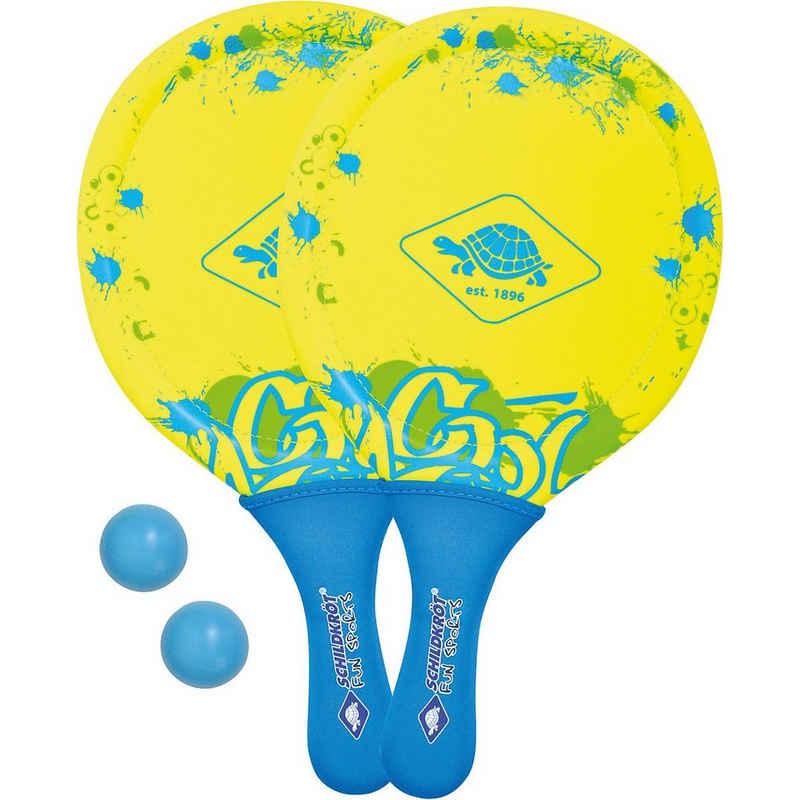 Schildkröt Beachball »Neopren Beachball Set, gelb«