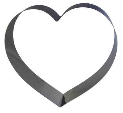 LARES Herzkuchenform »6002-1, Herzbackform groß«, aus rostfreiem Edelstahl, Made in Germany