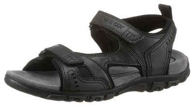 Geox »UOMO SANDAL STRADA« Sandale mit praktischen Klettverschlüssen