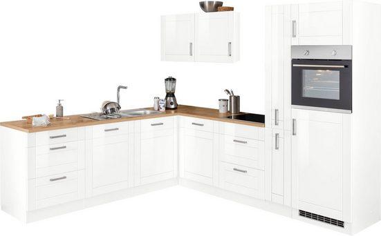 HELD MÖBEL Winkelküche »Tinnum«, ohne E-Geräte, Stellbreite 240/270 cm