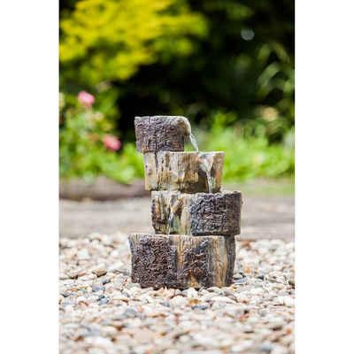 Heissner Gartenbrunnen »Heissner Gartenbrunnen 'Baumstümpfe'«