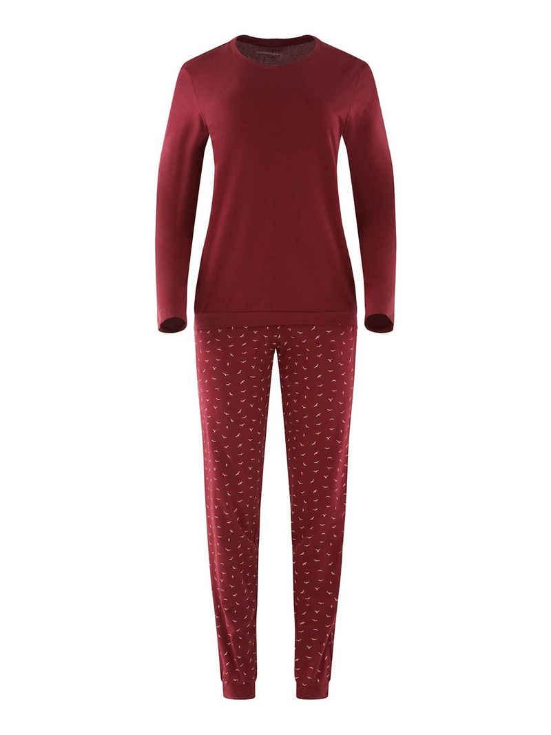 seidensticker Pyjama »Langarm«