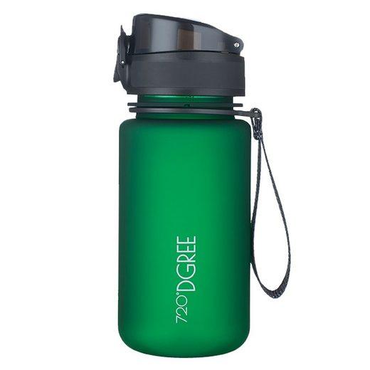 720°DGREE Trinkflasche, Trinkflasche, Wasserflasche, 350ml, Auslaufsicher, Sportflasche, für Schule, Sport, Outdoor, Wandern, Fahrrad, mit Früchtesieb