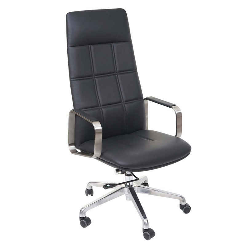 MCW Schreibtischstuhl »MCW-A57«, Vorspannung der Wippmechanik einstellbar, Ergonomisch geformte Sitz- und Rückenfläche