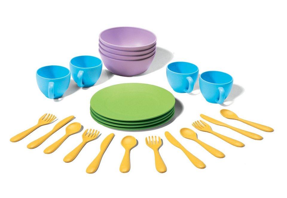 Green Toys Essgeschirr für die Kinderküche
