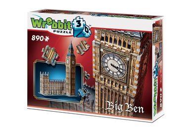 Wrebbit™ 3D-Puzzle  Big Ben + House of of of Parlament , 890 Teile online kaufen 9ff82d