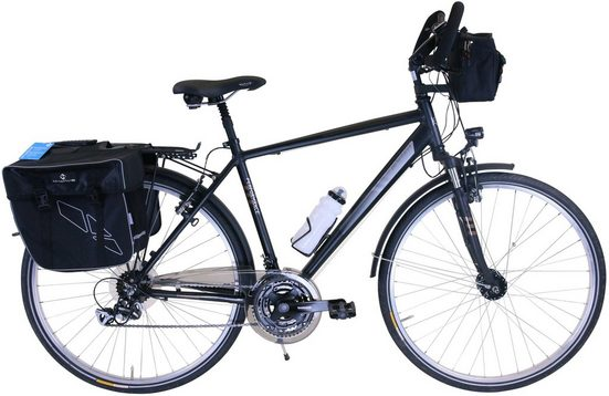 Performance Trekkingrad, 21 Gang Shimano ACERA RDM360 Schaltwerk, Kettenschaltung