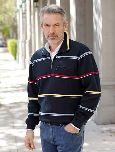 Babista Sweatshirt mit Troyerkragen