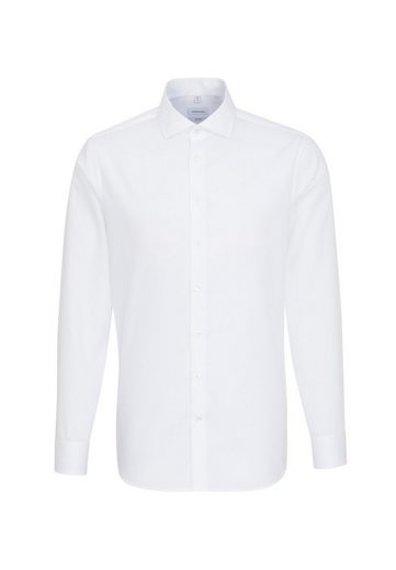 Schlussverkauf seidensticker Businesshemd »Shaped« Shaped Langarm Kentkragen Uni