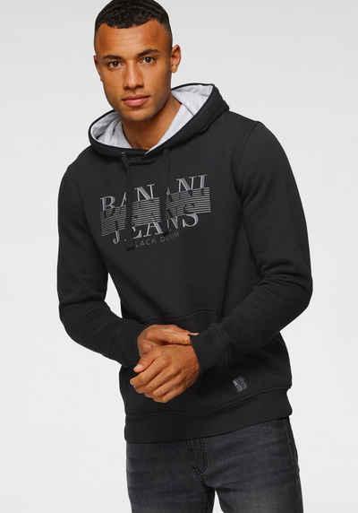 Bruno Banani Kapuzensweatshirt mit Markenfrontprint