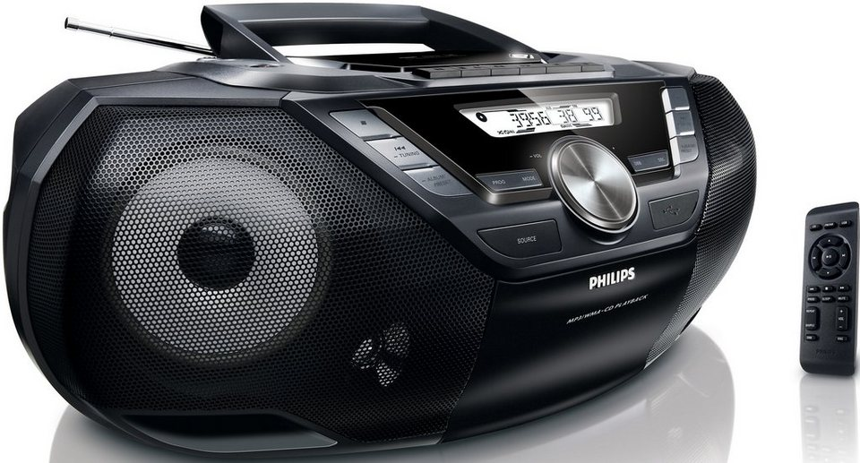 Philips CD Soundmachine AZ787 in schwarz