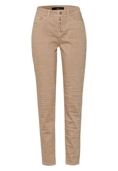 Zero 5-Pocket-Jeans »mit Knopfleiste 30 Inch« Knopfleiste