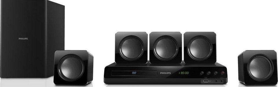 Philips HTD3510/12 Heimkinoanlage in schwarz