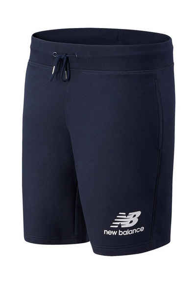New Balance Shorts »New Balance Herren Short ESSETIALS STACKED LOGO SHORT MS03558 Dunkelblau«