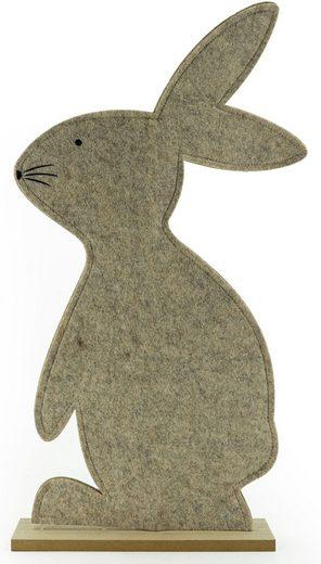 NOOR LIVING Osterhase (1 Stück), aus Filz, Höhe ca. 61 cm