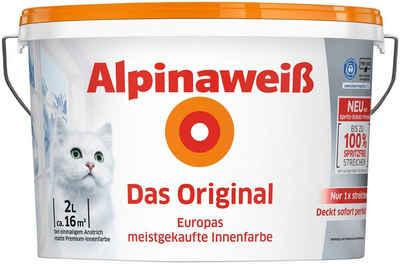 ALPINA Innenfarbe »Alpinaweiß Das Original«, 2L-11L