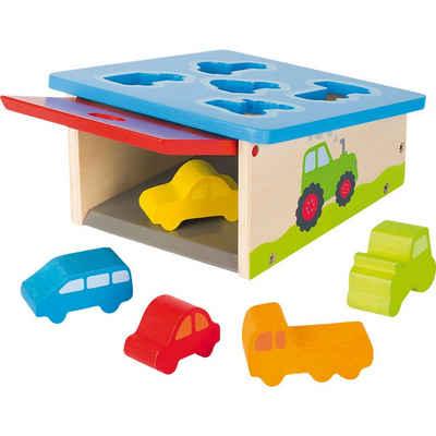 goki Steckspielzeug »Sort Box Fahrzeuge«