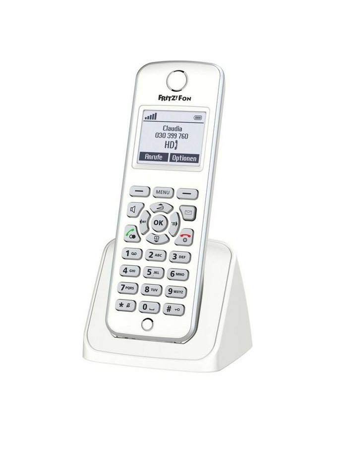 AVM VoIP-Telefon »FRITZ!Fon M2 Mobilteil« in Weiß
