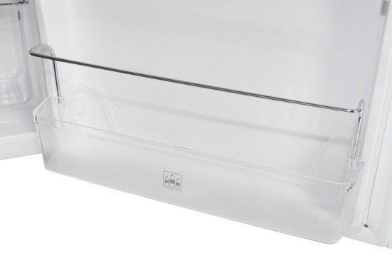 exquisit Kühlschrank KS16-4-HE-040D weiss, 85 cm hoch, 55 cm breit