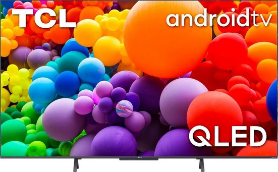 TCL 50C722X1 QLED-Fernseher (126 cm/50 Zoll, 4K Ultra HD, Smart-TV, Android TV, Android 11, Onkyo-Soundsystem)