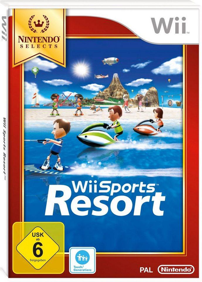 Wii-Spiel »Selects Sports Resort«