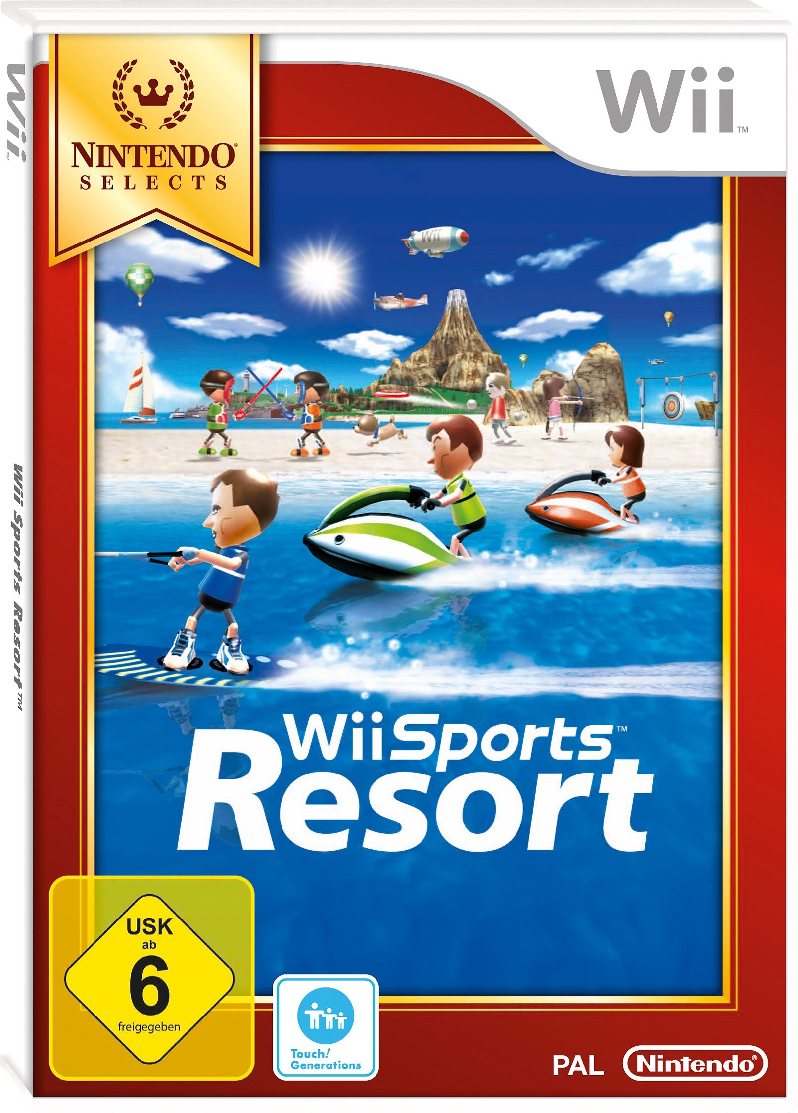 Wii-Spiel »Selects Sports Resort«