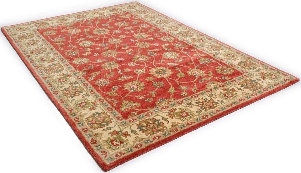 Orientteppich  Orientteppich »Panjin«, THEKO, rechteckig, Höhe 14 mm online ...