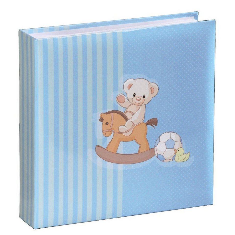 "Hama Babyalbum ""Joshua"", für 200 Fotos im Format 10x15 cm in Blau"