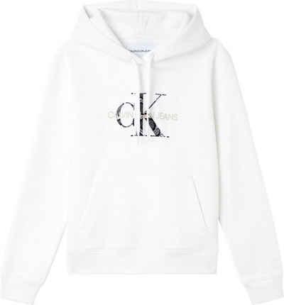 Calvin Klein Jeans Kapuzensweatshirt »Reptile Monogram Hoodie« mit trendigem CK Monogramm Logo & Schriftzug