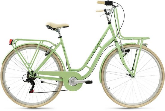 KS Cycling Cityrad »Swan«, 6 Gang Shimano Tourney Schaltwerk, Kettenschaltung