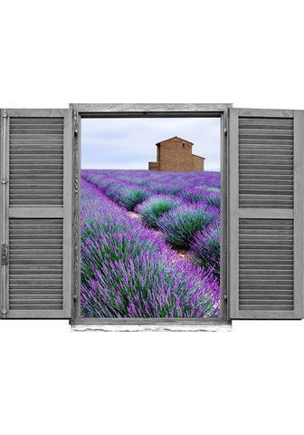 queence Wandtattoo »Lavendelfeld« (1 vienetai)...