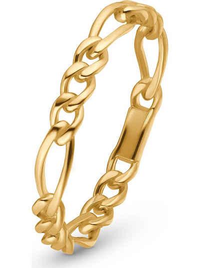 CHRIST Fingerring »CHRIST Damen-Damenring Ring Figaro 375er Gelbgold«