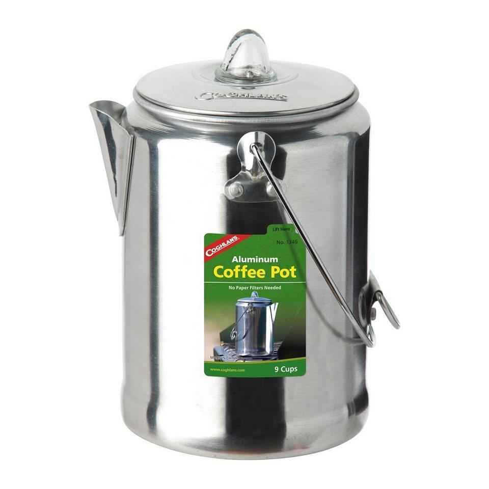 Coghlans Camping-Geschirr »Percolator-Kaffee-Kanne Aluminium« in grau
