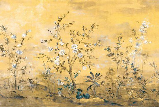 Komar Fototapete »Mandarin«, glatt, bedruckt, floral