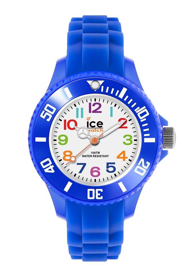 "Ice watch, Armbanduhr, ""ICE-MINI, MN.BE.M.S.12"" in blau"