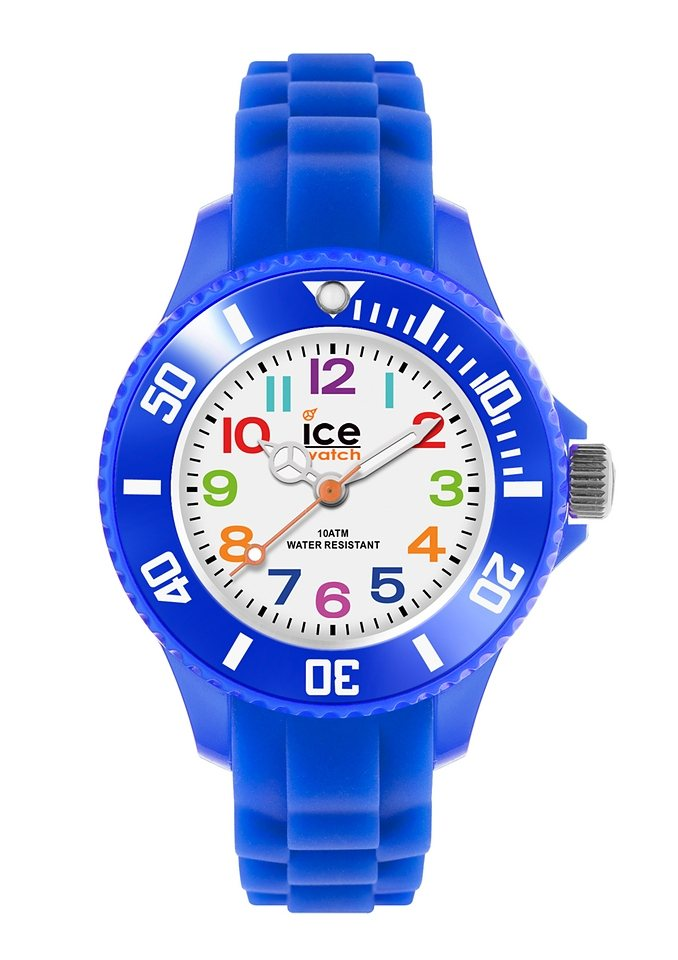 ice-watch Quarzuhr »ICE-MINI, MN.BE.M.S.12« in blau