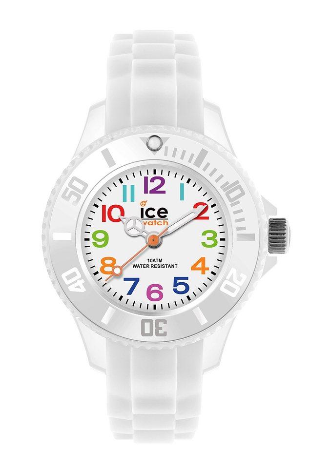 "Ice watch, Armbanduhr, ""ICE-MINI, MN.WE.M.S.12"" in weiß"