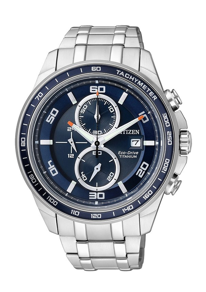 Citizen Chronograph »CA0345-51L« in silberfarben