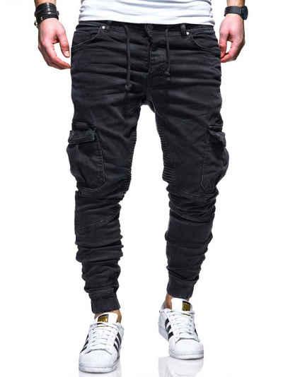 behype Slim-fit-Jeans »BILLY« mit praktischen Taschen