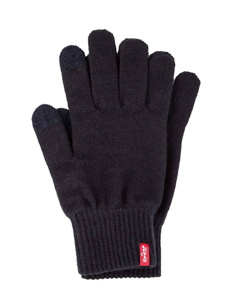 Levi's® Fleecehandschuhe »Unisex Handschuhe mit Touch-Einsatz - Ben Touch«