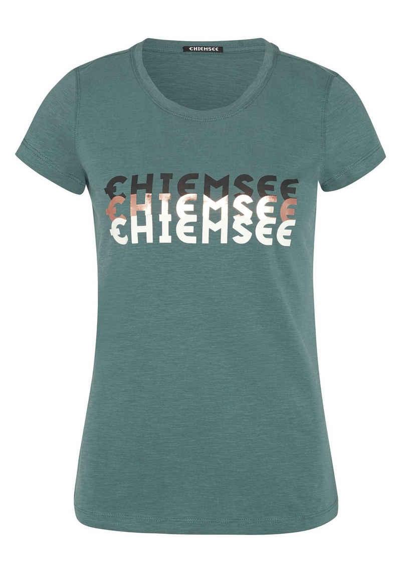 Chiemsee T-Shirt »aus reiner Bio-Baumwolle« (1-tlg)