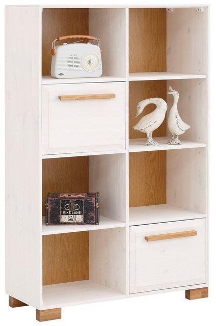 Küchenregale - Home affaire Regal »Ance«, Regal Ance aus Kiefer und Eiche massiv, Breite 85 cm  - Onlineshop OTTO